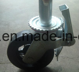 U-Shape Steel Structure with Rubber Wheel Castors pictures & photos