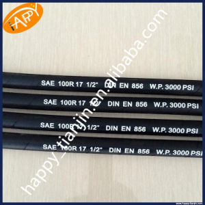 1/2 Inch High Pressure 3000 Psi Hydraulic Hose SAE R17 pictures & photos