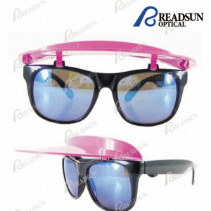 Promotional Plastic Sunglasses with Clip Hat and Revo Lens (SP662057) pictures & photos