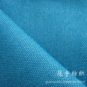 Oxford Compound Linen Fabric with Knitted Backing for Home Upholstery pictures & photos