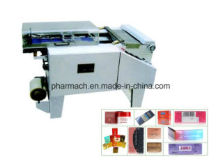 Wb-300 Semi-Automatic Transparent Film Packing Machine pictures & photos
