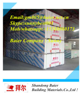 Gypsum Plaster Board Hot Sale Cheapest Plasterboard Directly From Factory pictures & photos