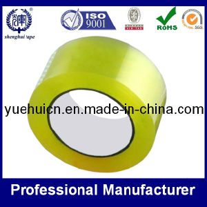 Yellowish Super Clear Carton Sealing Adhesive Tape pictures & photos