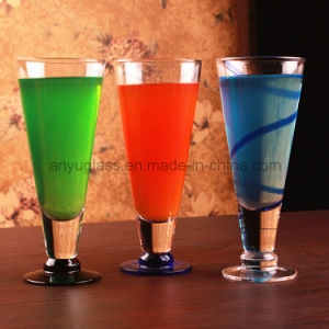 Ecological Friendly Lead-Free Glass Beverage Juice Cup for Water, Wine, Beer, Milkshakes pictures & photos