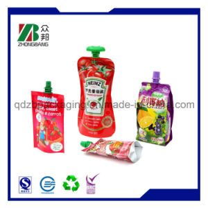 Stand up Pouch with Spout for Beverage Juice pictures & photos