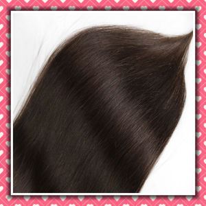 Facotry Price Double Drawn Clip-in Human Hair Extensions Silky 16inch pictures & photos