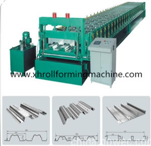 Galvanized Metal Sheet Floor Decking Cold Roll Forming Machine pictures & photos