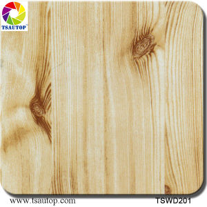 Tsautop 1m Width Straight-Wood Water Transfer Printing Hydrographic Films pictures & photos