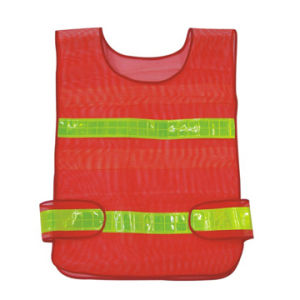 100% Polyester Reflective Vest Hs702 pictures & photos