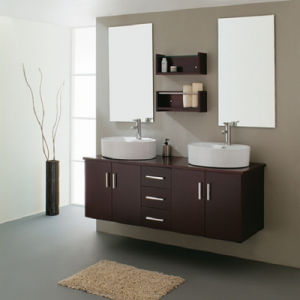 MDF Bathroom Cabinet W-150b pictures & photos