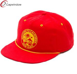 Red Round Embroidery Simple Fashion Leisure Baseball/Snapback Hat pictures & photos