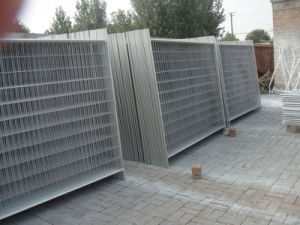 As4687 Standard Temporary Fencing Panels Od 32 X 2.00mm Pipes Mesh 60mm X 150mm X 4.00mm pictures & photos