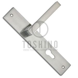 Zinc Alloy Door Lock Handle (153.0188) pictures & photos