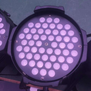 54PCS*3W Warm White LED Aluminum PAR Light for Indoor Stage pictures & photos