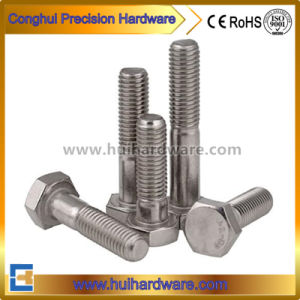 SUS 304 Half Threaded Hex Bolts DIN931 pictures & photos
