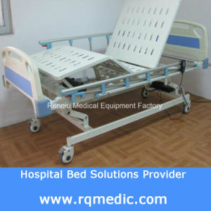 (CE ISO) ICU, Ccu Three-Function Electric Patient Bed/Hospital Bed pictures & photos