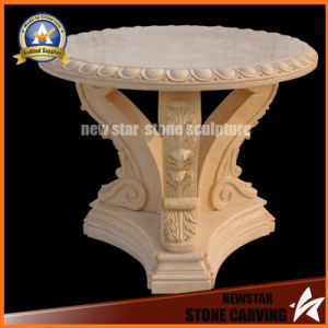 Stone Garden Furniture Marble Top coffee Table for Home Decoration pictures & photos