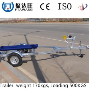 Light Boat Trailer with Bank Jetski Trailer Single Axle Yacht Trailer pictures & photos