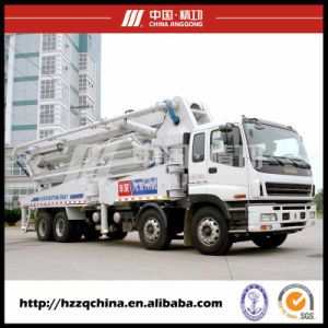 47m Ssab Steel Isuzu Truck-Mounted Concrete Delivery Pump (HZZ5381THB) pictures & photos