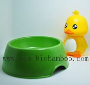 Bamboo Fiber Pet Supply Bowl with Eco-Friendly (BC-PE6005) pictures & photos