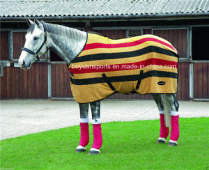 Anti Pilling Polar Fleece Horse Rug pictures & photos