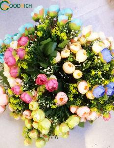 Bonsai Small Rose Flower Bouquet Pot Flower