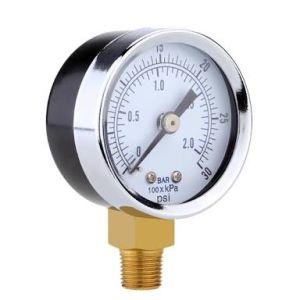 Pressure Gauge of Air Compressor Parts pictures & photos