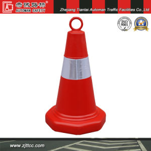 "20"" All Orange Traffic Cone with Round Hanger pictures & photos"