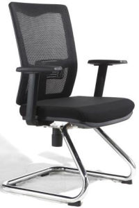 Factory Price Task Full Mesh Chair Without Wheels (FOH-XD26D) pictures & photos
