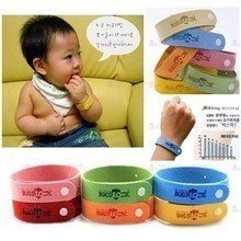 Lavender Essential Oil Baby Mosquito Repellent Bracelet Fiber pictures & photos