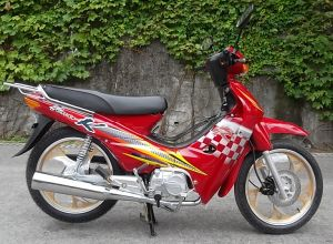 Cub Motorcycle 110cc, High Quality Cheap Price for Westen Africa. pictures & photos