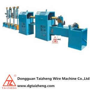 Horizontal Type AWG Cable Tapping Machine pictures & photos