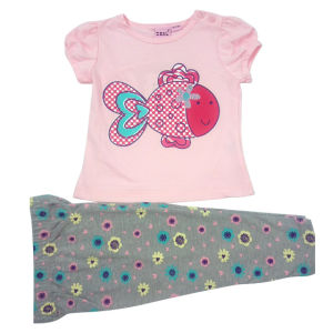 Summer Baby Girl Kids Suits for Children Clothing pictures & photos