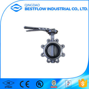 Flanged Type Cast Steel Butterfly Valve pictures & photos