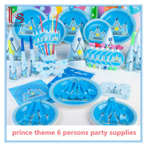 Children Birthday Theme Party Supplies for 6 Person pictures & photos