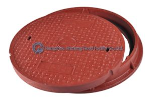 En124 E600 SMC Composite Heavy Duty Manhole Cover with Frame/High Duty Manhole Cover/High Load Capacity Manhole Cover pictures & photos