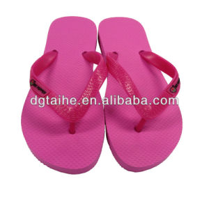 Fashion Beach Flip Flops for Ladies pictures & photos