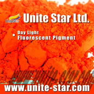 Day Light Fluorescent Pigment Orange Red for Water-Based Paint pictures & photos