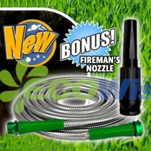 Stainless Steel Lawn Watering Flexible Garden Hose pictures & photos