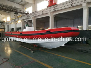 Nice Inflatable Rubber Air Bag and Aluminium Rib Boat pictures & photos