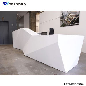led small reception table reception desk for office desk design