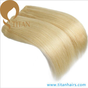 Human Hair Weave Blond 613# Human Hair Weft pictures & photos