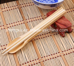 Nice Design Chinese Kitchen Bwood Cutlery Set (SX-A04) pictures & photos