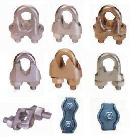 Hot DIP Galvanized Special Type Triple Wire Rope Clip pictures & photos
