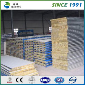 Good Quality New Design Roof Rock Wool Sandwich Panel pictures & photos