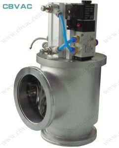 Angle Valve with CF Flange Stainless Vacuum Angle Gate pictures & photos