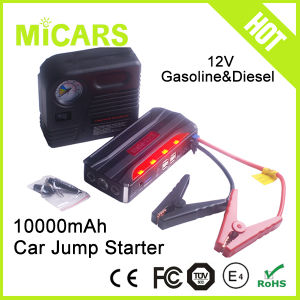 Multi- Function Car Emergency Tools 12V Mini Portable Battery Jump Starter pictures & photos