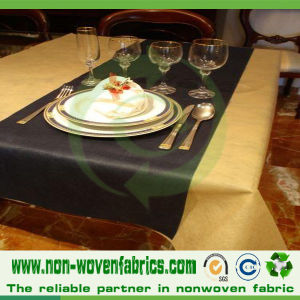 Colored Nonwoven TNT Table Cloth pictures & photos