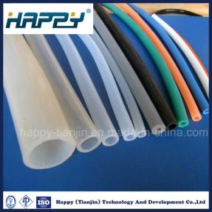 Customized Size Transparent Flexible Silicone Rubber Tube pictures & photos