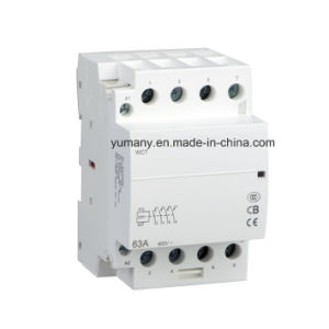 Indoor DIN Rail Mounted AC Contactor for Home (WCT-63A 4P) pictures & photos